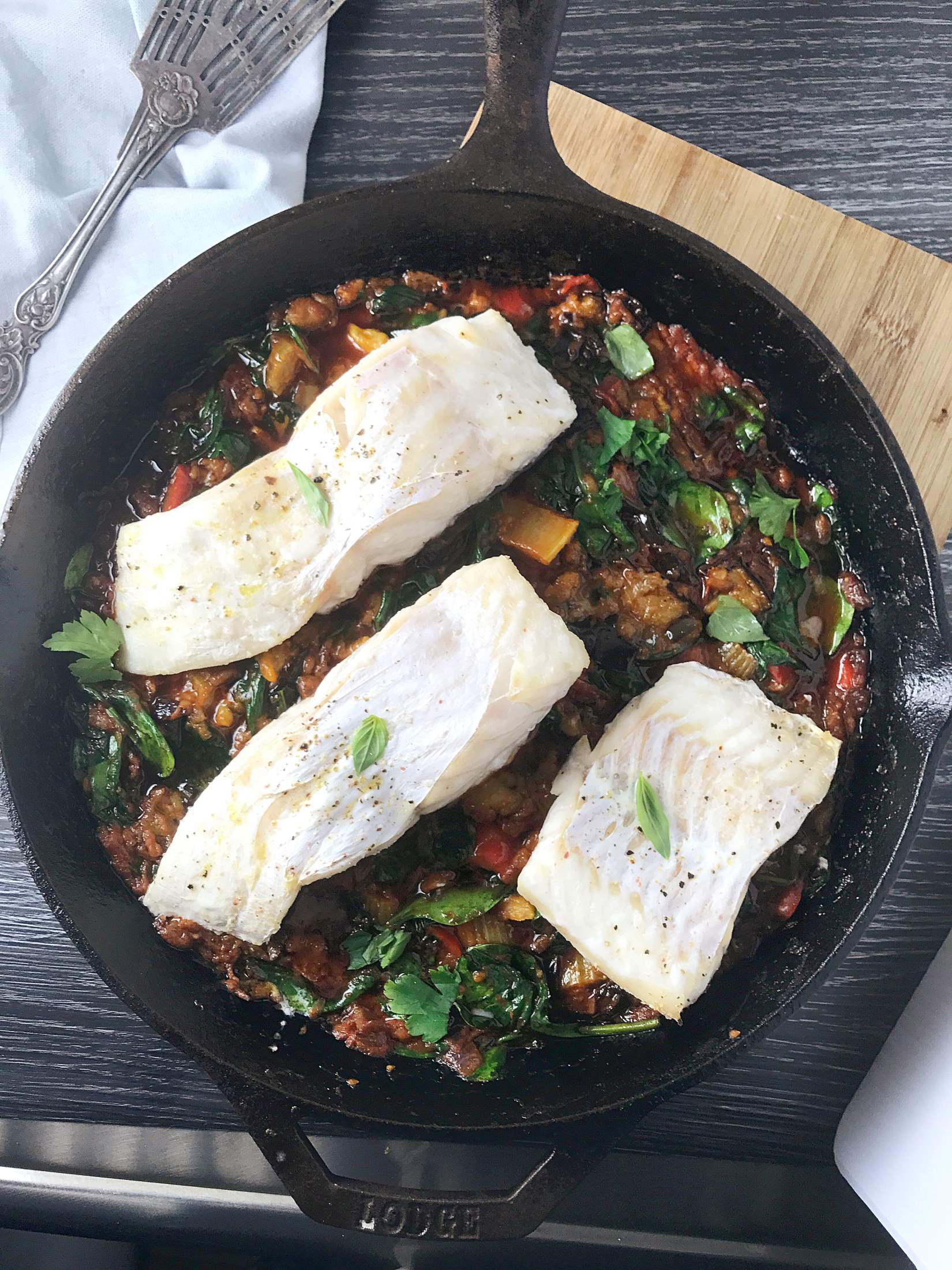 What is metabolism and snapper on spring veg caponata